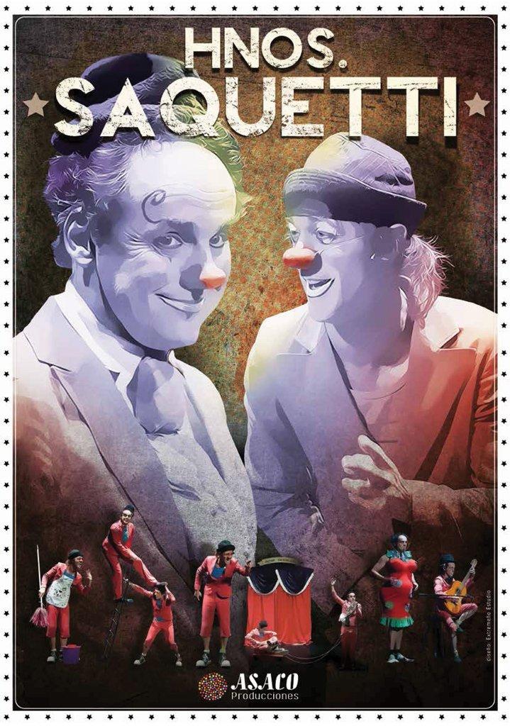 """Teatro Familiar: """"Hermanos Saquetti"""""""