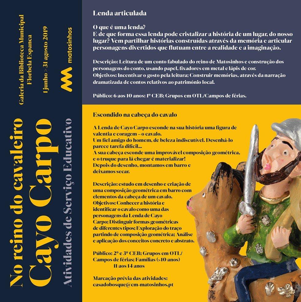 No reino do cavaleiro Cayo Carpo