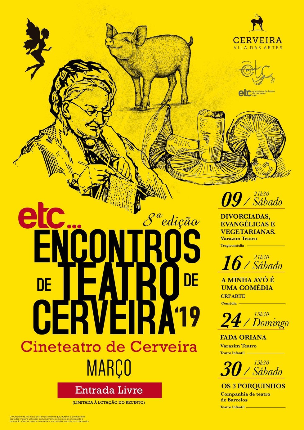 'ETC...Encontros de Teatro de Cerveira