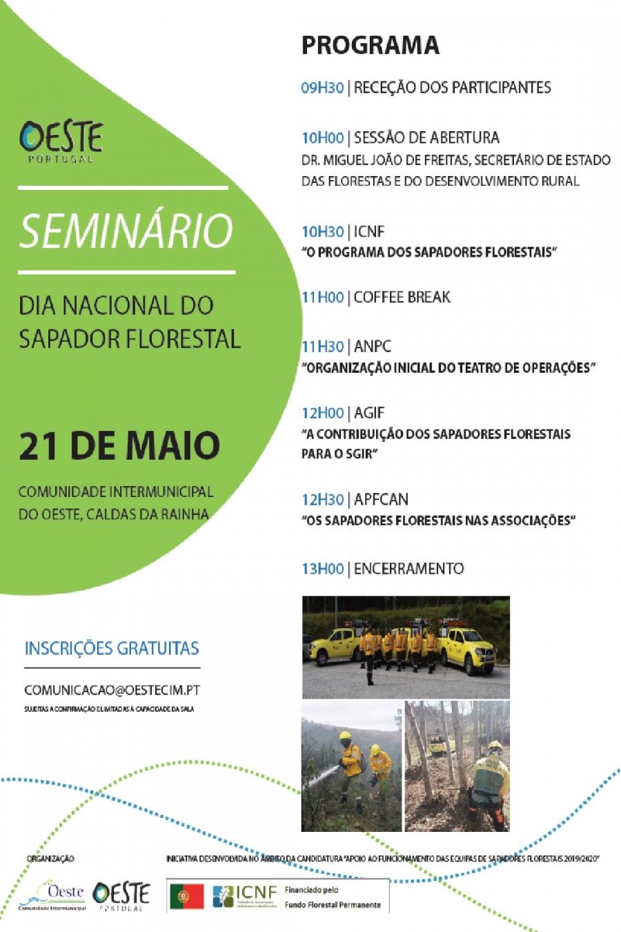 Dia Nacional do Sapador Florestal