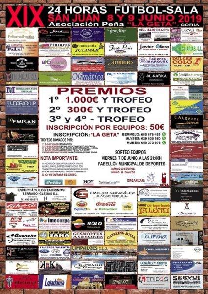 XIX 24 Horas Fútbol-Sala San Juan 2019