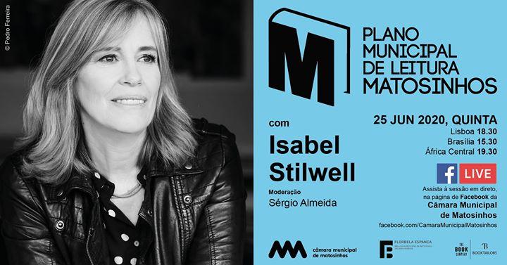 Plano Municipal de Leitura de Matosinhos com Isabel Stilwell