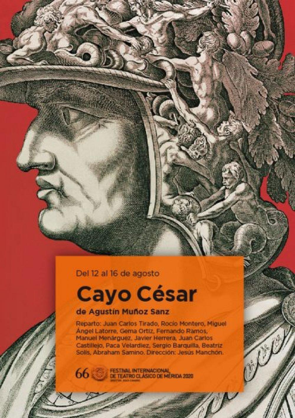 Cayo César. Festival Internacional de Teatro Clásico de Mérida