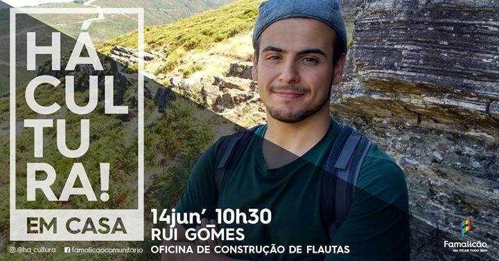 Construção de Flautas c/Rui Gomes