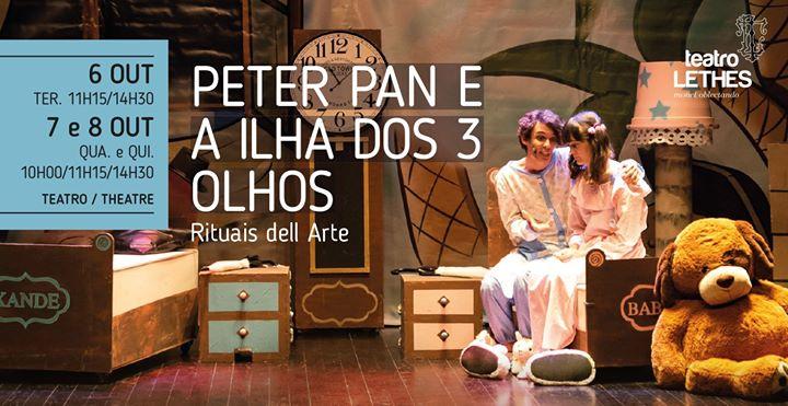 Peter Pan e a Ilha dos 3 Olhos