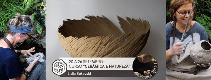 Curso com Lidia Bosevski 'Cerâmica e natureza'