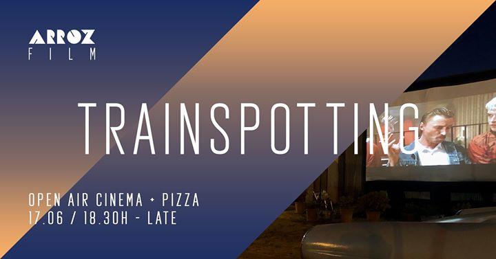 Sold out / Esgotado - Arroz Open Air Cinema: Trainspotting