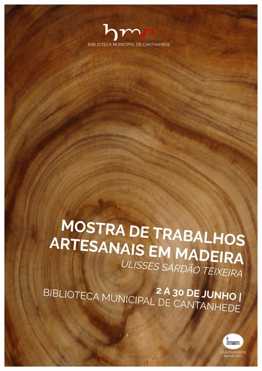 Mostra de Trabalhos Artesanais em Madeira, de Ulisses Sardão Teixeira
