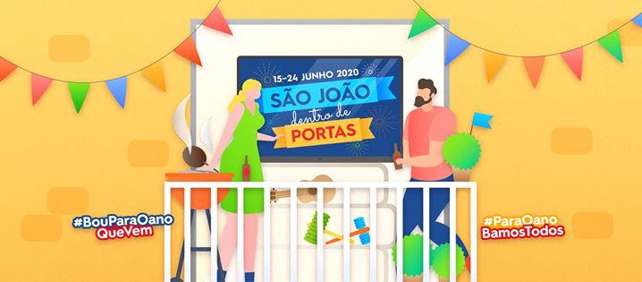 São João 'dentro de portas' 2020