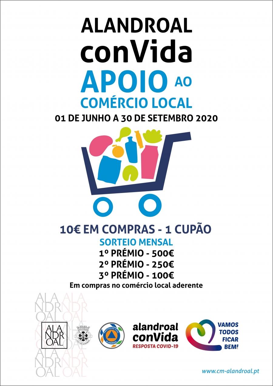 Alandroal ConVida - Apoio ao Comércio Local