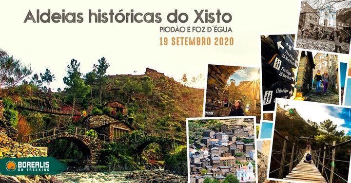 Expedição às aldeias históricas do Xisto, Piodão e Foz d'Égua