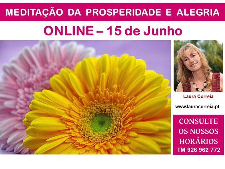 Online | Meditação para a Prosperidade e Alegria