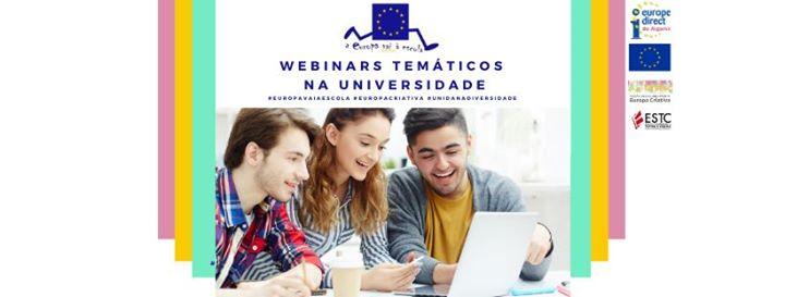 Europa vai a Universidade: webinar Europa Criativa