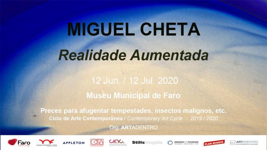 Realidade Aumentada - Exposição de Miguel Cheta