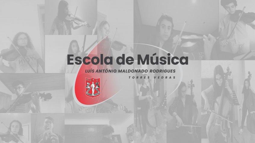 """Associação de Educação Física e Desportiva de Torres Vedras   Escola de Música """"Luís António Maldonado Rodrigues"""""""