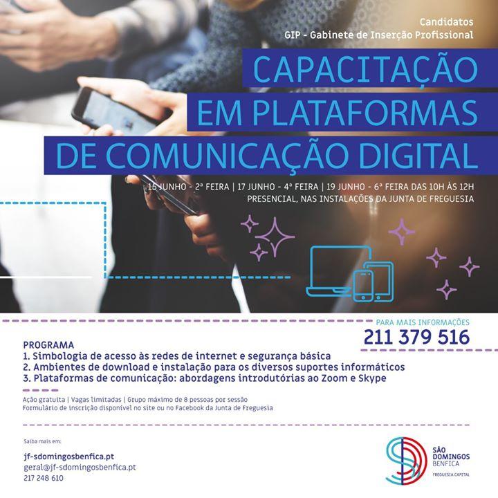 Capacitação em Plataformas Digitais - Zoom e Skype
