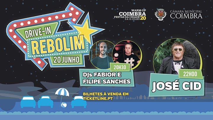 Drive-in no Rebolim com José Cid