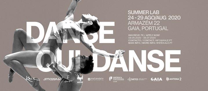 Danse qui Danse Summer Lab 2020