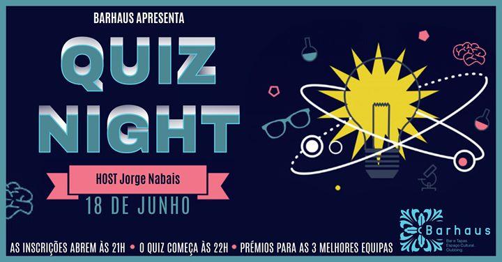 Quiz Night (voltou) no Barhaus _18 de Junho