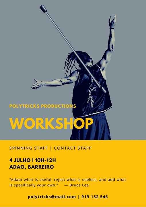 Workshop Manipulação de Bastão