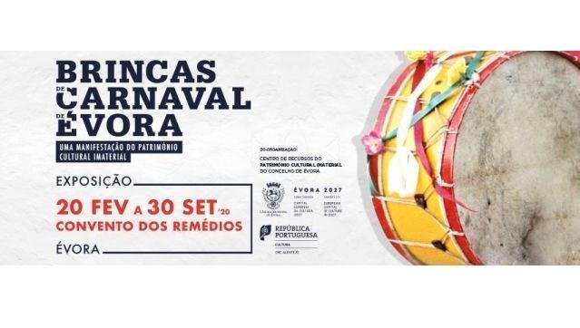 """Exposição """"Brincas de Carnaval de Évora"""""""