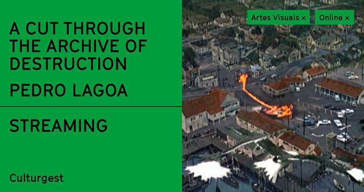 A cut through the archive of destruction, de Pedro Lagoa