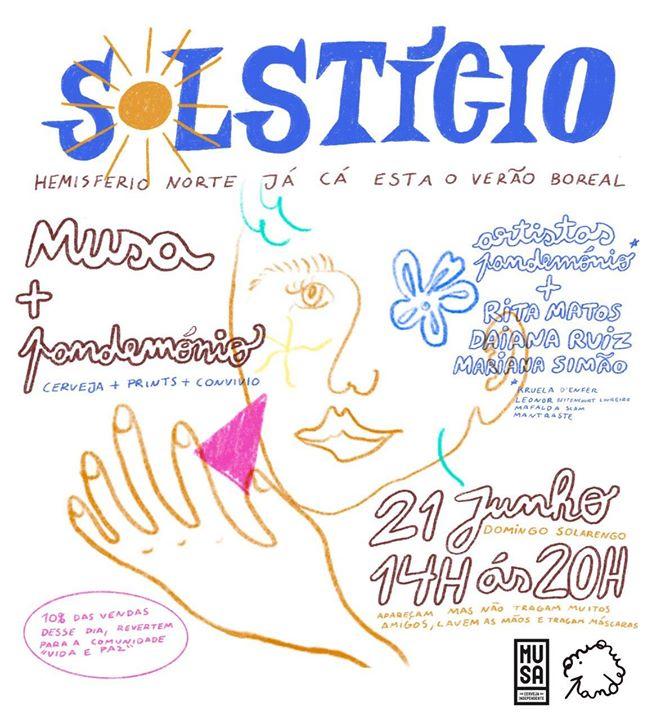Pandemónio apresenta Solstício | Live Painting + Exposição de Prints