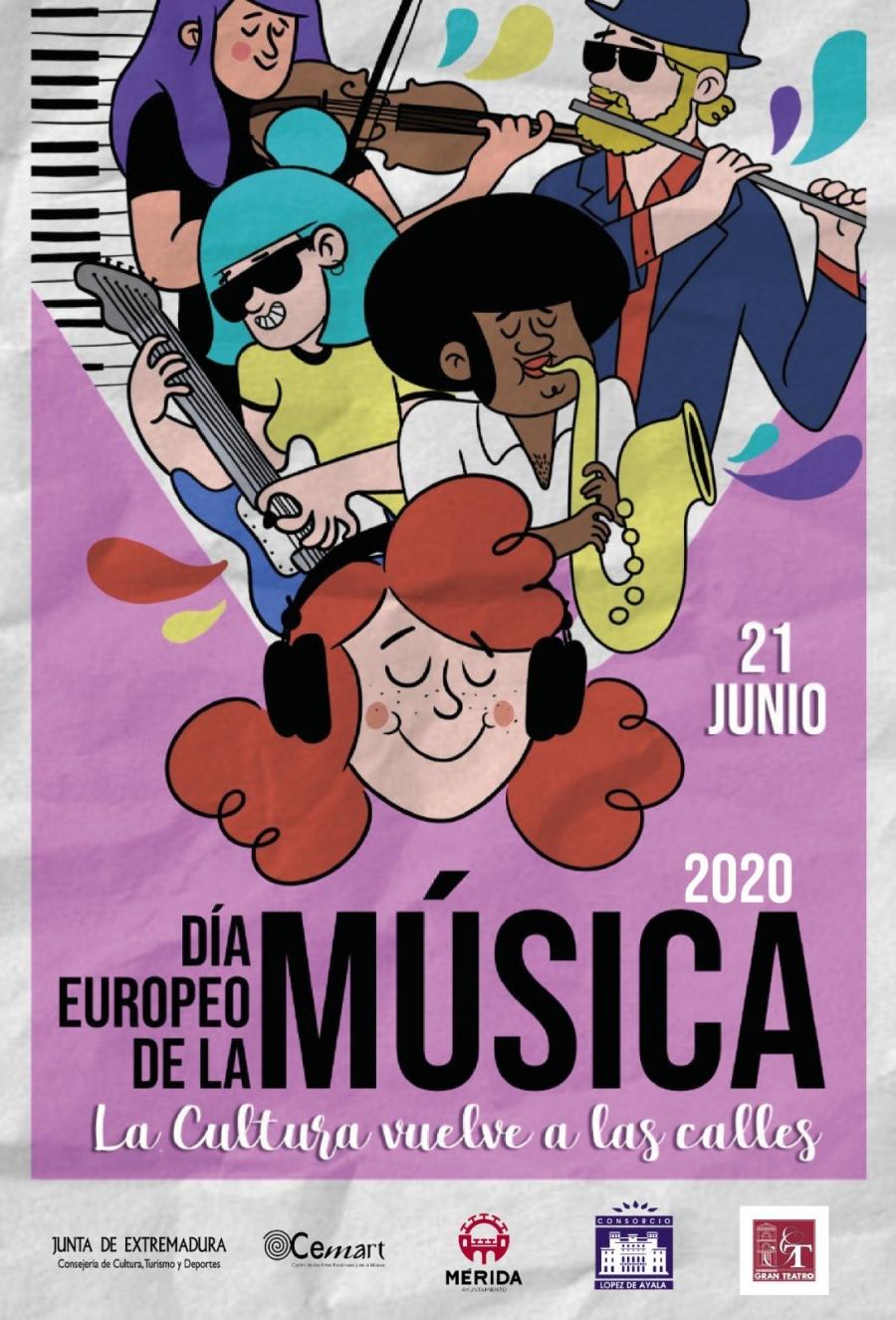 Javier Alcántara y Short Stories Band (Día Europeo de la Música)