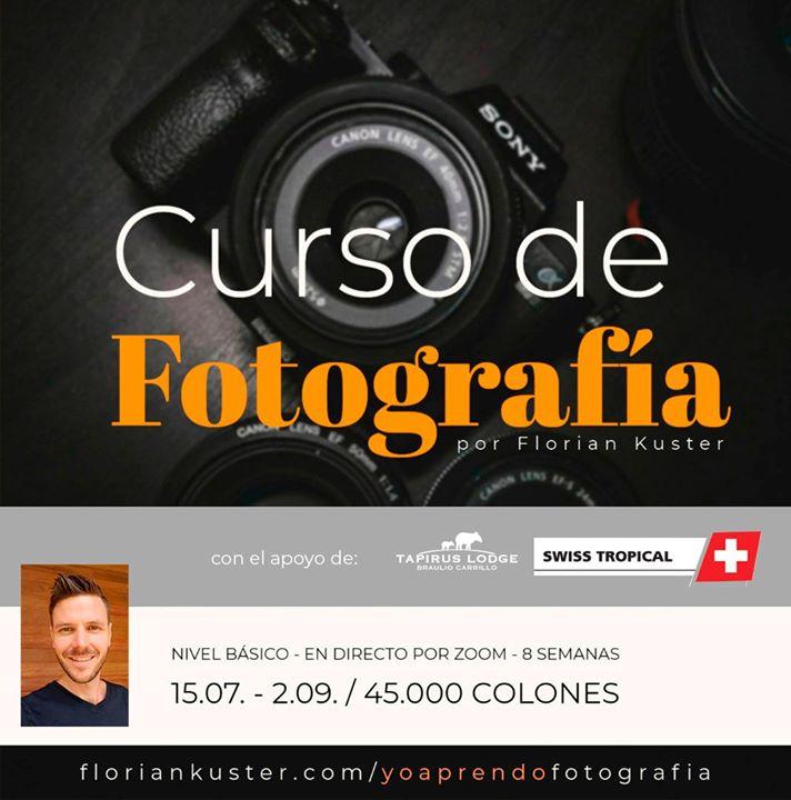 Curso básico de fotografía - con Florian Kuster