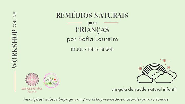 Remédios Naturais para Crianças • Workshop Online