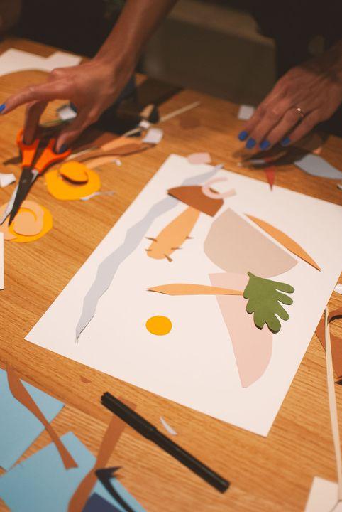 Oficina de Colagem e Texturas em Papel | ONLINE