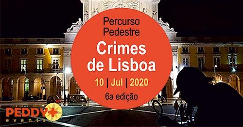Percurso Pedestre 'Crimes de Lisboa' (6ª Edição)