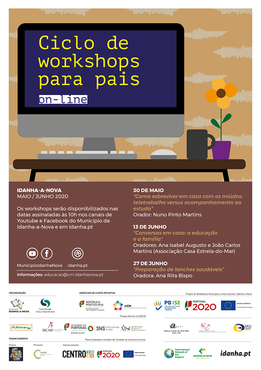 Workshop Online: Pequenos-almoços e lanches saudáveis