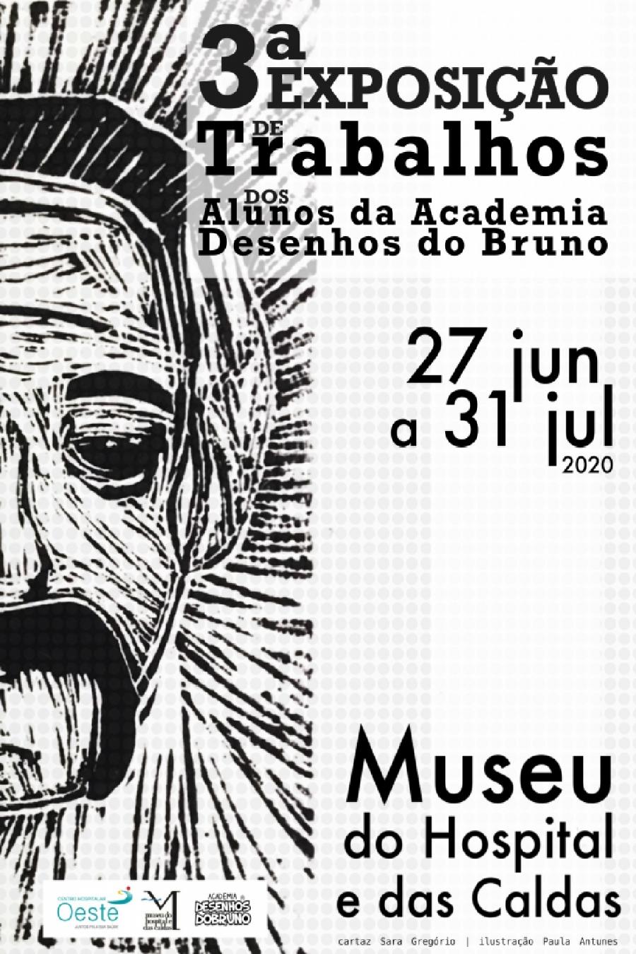 3ª Exposição dos Alunos da Academia 'Desenhos do Bruno'