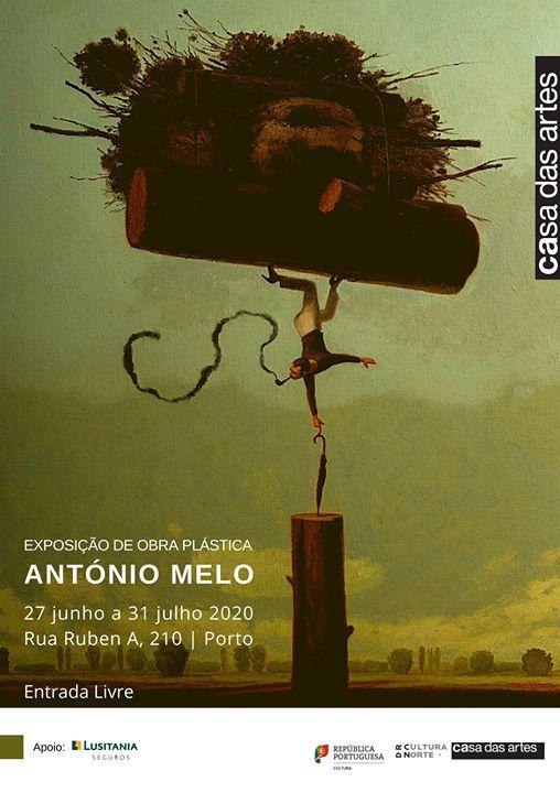 Exposição de Obra Plástica de António Melo