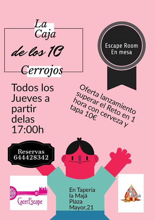 La caja de los 10 Cerrojos