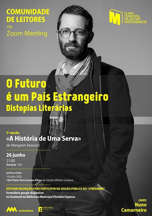 Comunidade de Leitores com Nuno Camarneiro