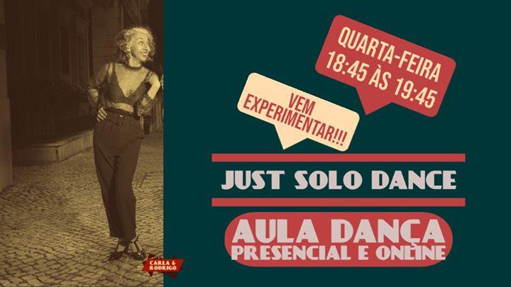 Just Solo Dance | Aulas Dança e Movimento (presenciais e online)