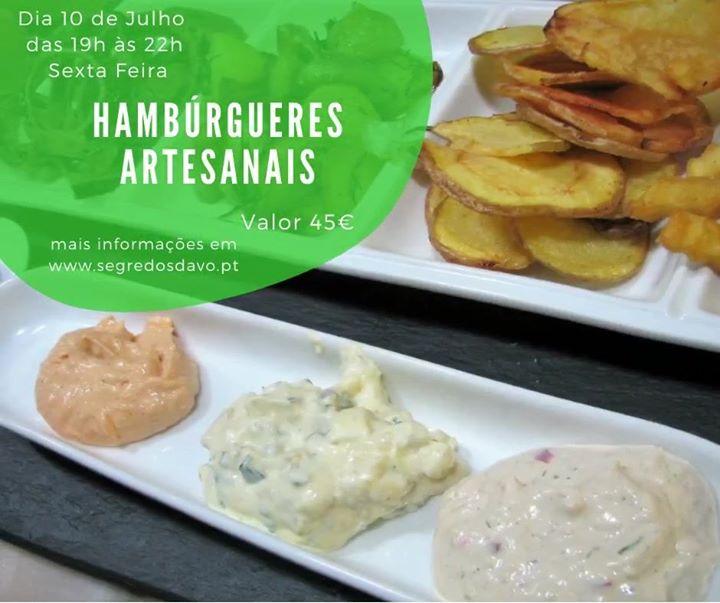 Hambúrgueres Artesanais