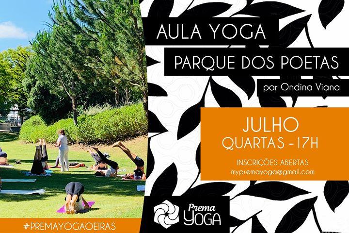 Aulas de Yoga no Parque