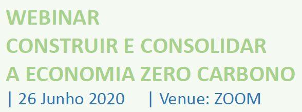 Construir e Consolidar a Economia Zero Carbono