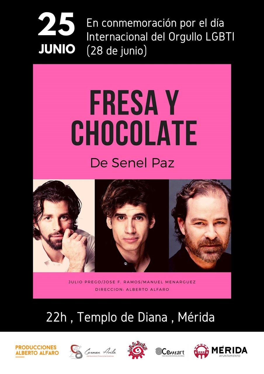 Teatro: «Fresa y chocolate»