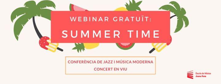 Summer Time: Conferència Online de Jazz i Música Moderna