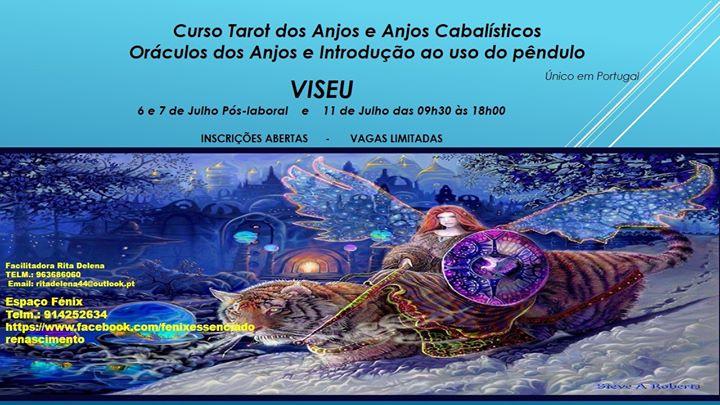 Curso de Tarot dos Anjos, Anjos Cabalísticos, Oráculos e Uso do