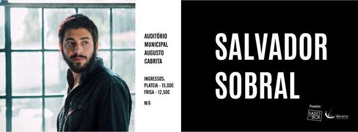 REAGENDADO | Salvador Sobral | Concerto