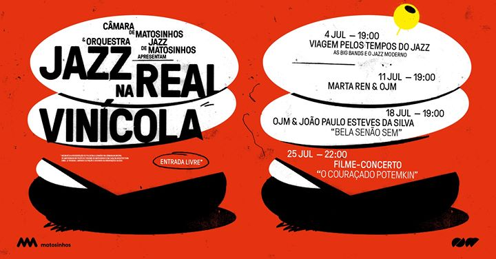 Esgotado: 'O Couraçado Potemkin | Jazz na Real Vinícola