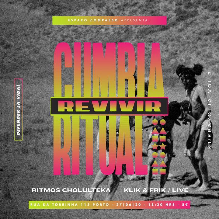 Cumbia Ritual / Klik&Frik / Kuepayolia vol.2 (pré-venda on-line)