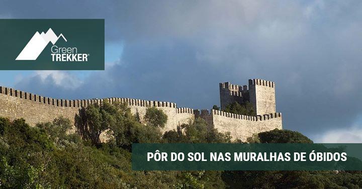 Pôr do Sol nas Muralhas de Óbidos