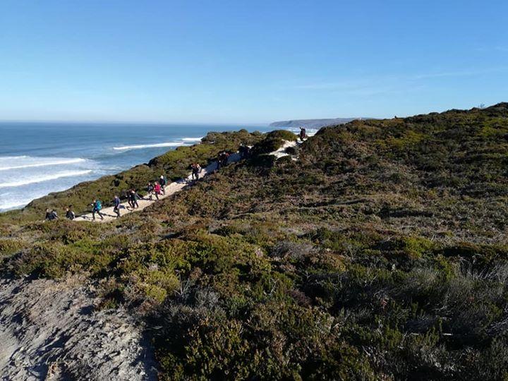 Trilhos das Falésias da Praia D'El Rei