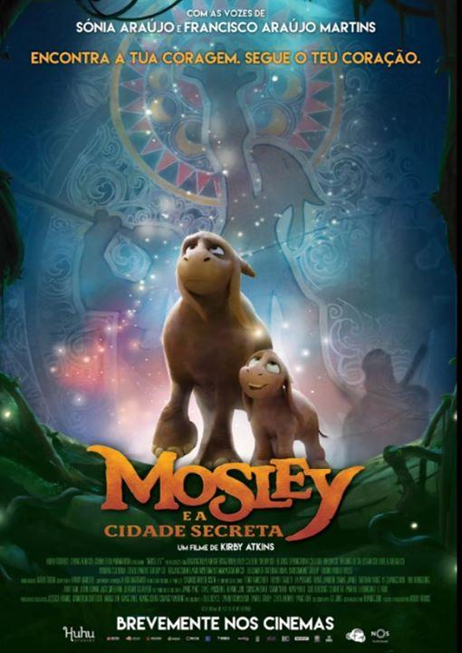 Sessão cinema famílias: Mosley e a cidade secreta [np]